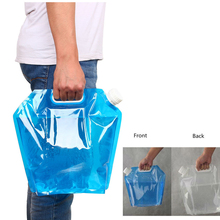 5L 10L folding collapsible Outdoor Camping Hiking drinking water bag car carrier container for Picnic BBQ