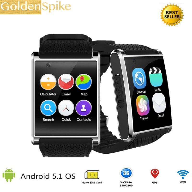 купить 2018 watch smartwatch X11 MTK6580 smart watch with pedometer camera 2.0M 3G WIFI GPS for xiao mi huawei SAMSUNG smart watch недорого