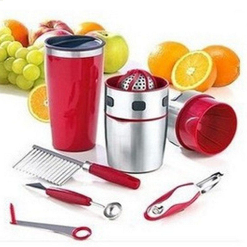 цены Indispensable for every houshold Manual Stainless steel juicer lemon juicer Mini juice extractor