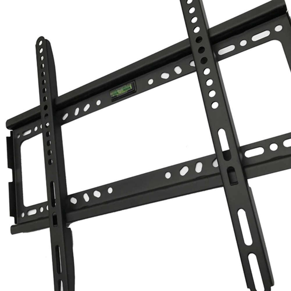 جهاز تلفزيون يُثبت على الحائط كتيفة ثابتة شنقا ل 26-63 بوصة LED LCD ABS مستقرة تصل إلى VESA 400x400 مللي متر PAK55