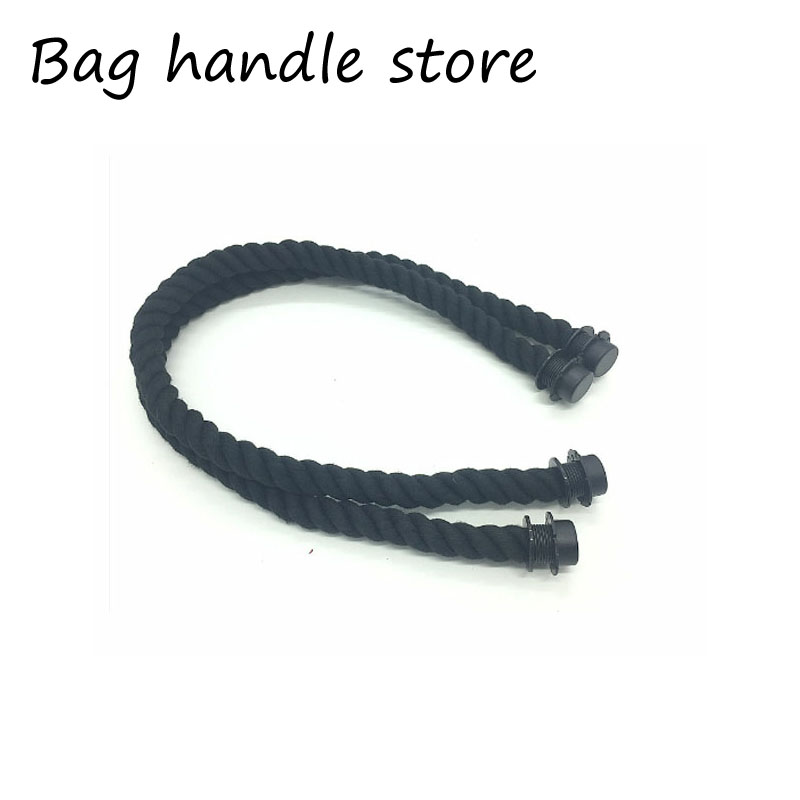 65cm 1 pair  2 pcs rope handle for italy obag beach handbag fashion style for obag accessories handle