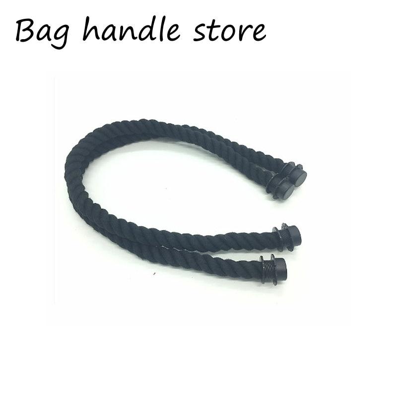 65 cm 1 paar 2 stks touw handvat voor italië obag strand handtas mode stijl voor obag accessoires handvat