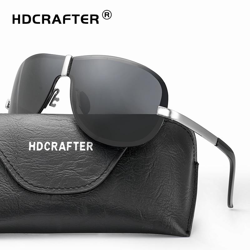 Hdcrafter marca sem aro da forma legal óculos polarizados 100% uv400  proteção eyewear oculos de 20ede3ed04