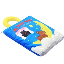 2019 New Infant Cloth Book Cartoon Pattern Baby Soft Activity Crinkle Cloth Books Educational Learning Toys 1pc baby educational learning toys infant cloth book cartoon animal pattern baby soft activity crinkle cloth books 1