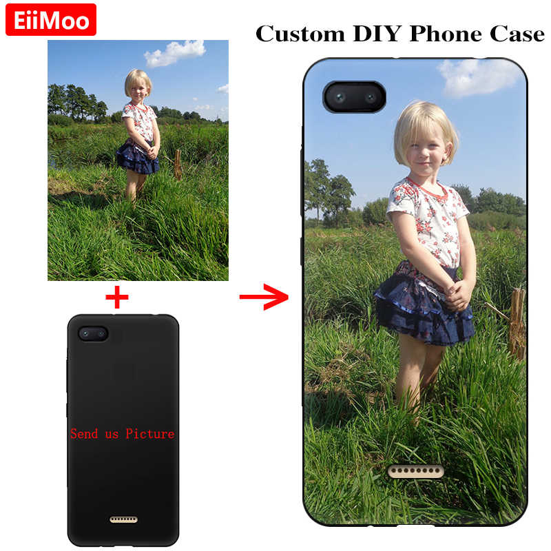 EiiMoo Custom Print Photo Phone Cases For Samsung Galaxy A9 A8 A7 A6 S9 Plus J2 Pro J4 J6 J8 Note 9 2018 Cover DIY Personalised