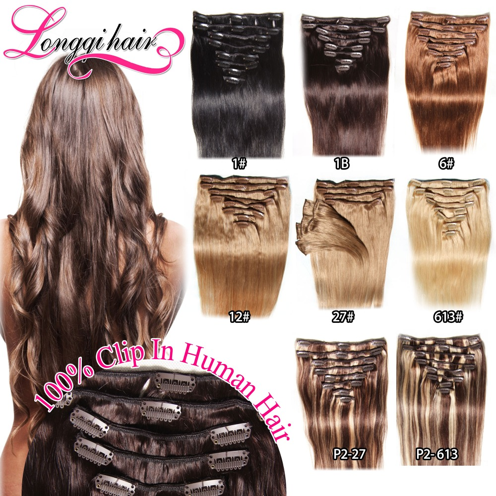 Best Remy Clip In Hair Extensions Brand Remy Indian Hair