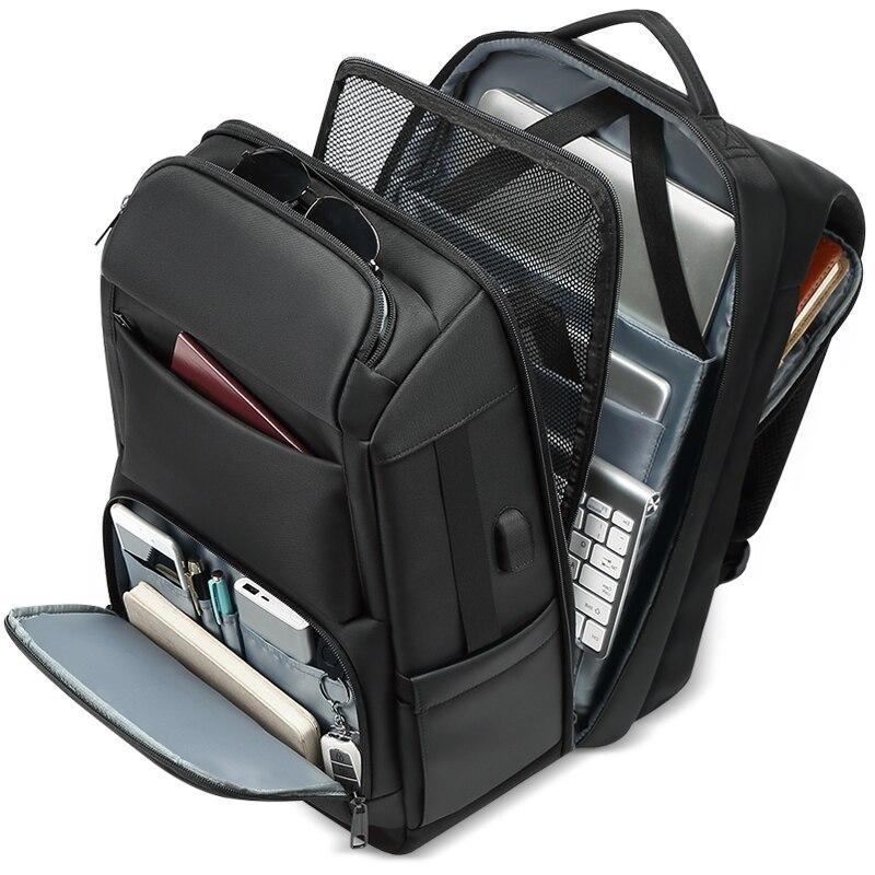 Interface USB Ombros mochilas dos homens Anti-roubo de Mochila de Viagem 15-17 polegada laptop à prova d' água mochila mochila masculina