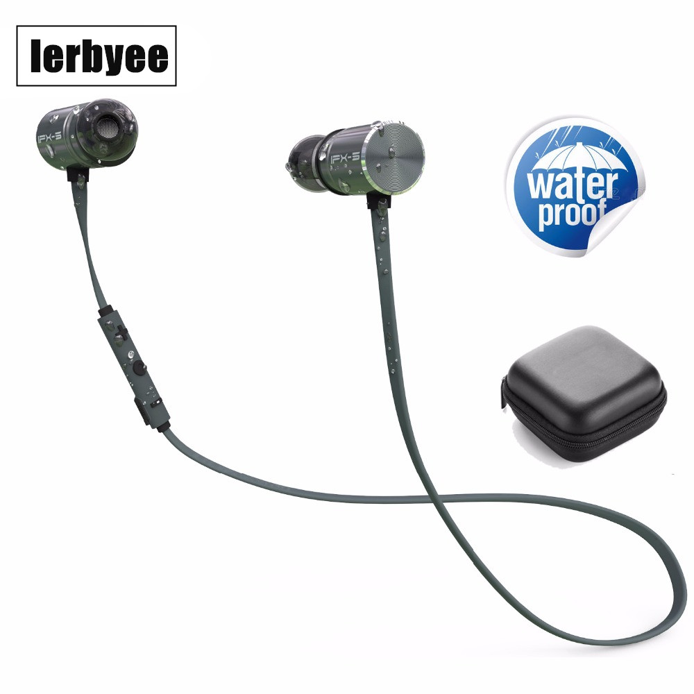 wireless bluetooth sports earphones in ear earbuds with 8 hours playtime ipx5. Black Bedroom Furniture Sets. Home Design Ideas