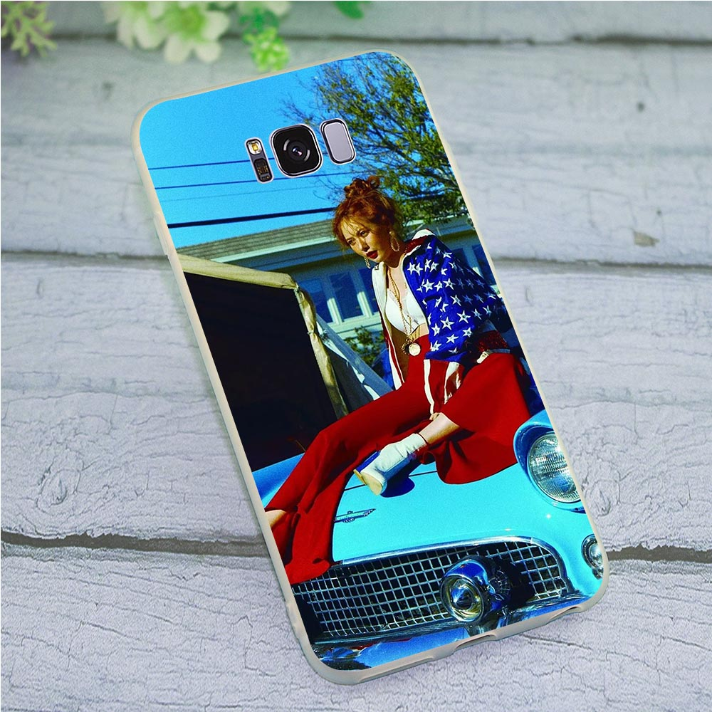 Silicone Kim Hyuna <font><b>Sexy</b></font> Phone Cover for Galaxy S9 <font><b>Case</b></font> Note 8 9 M10 M20 M30 Galaxy S6 S7 Edge <font><b>S8</b></font> S10 Plus S10e image