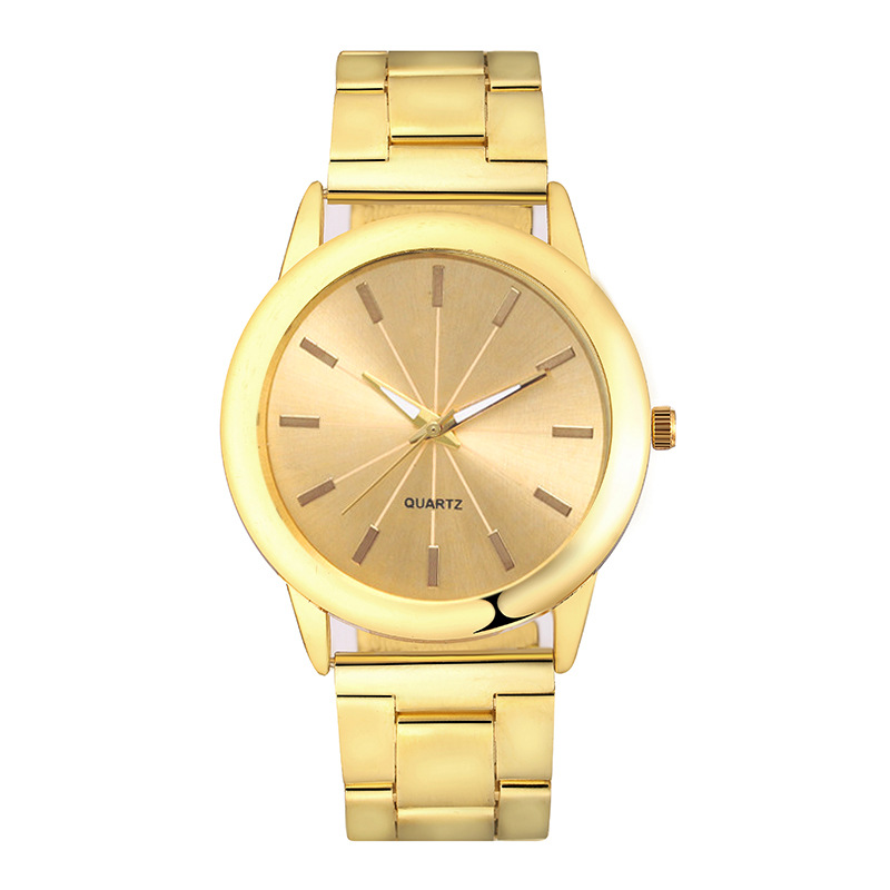 Lovers Watch Women Rose Gold Silver Bracelet Stainless Steel Wristwatch Fashion Dress Casual Small Watches Gold Men Quartz Clock