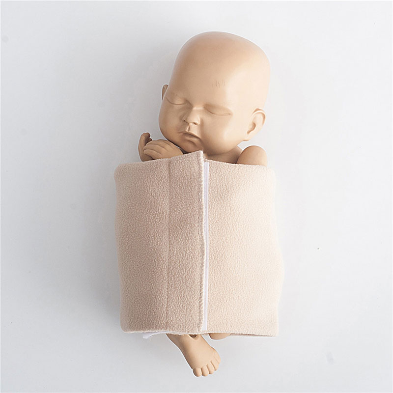 2019 Newborn Photography Props Baby Posing Wraps Professional Soft Wrap for Fotografia Accessories Studio Photo Props 3 Colors(China)