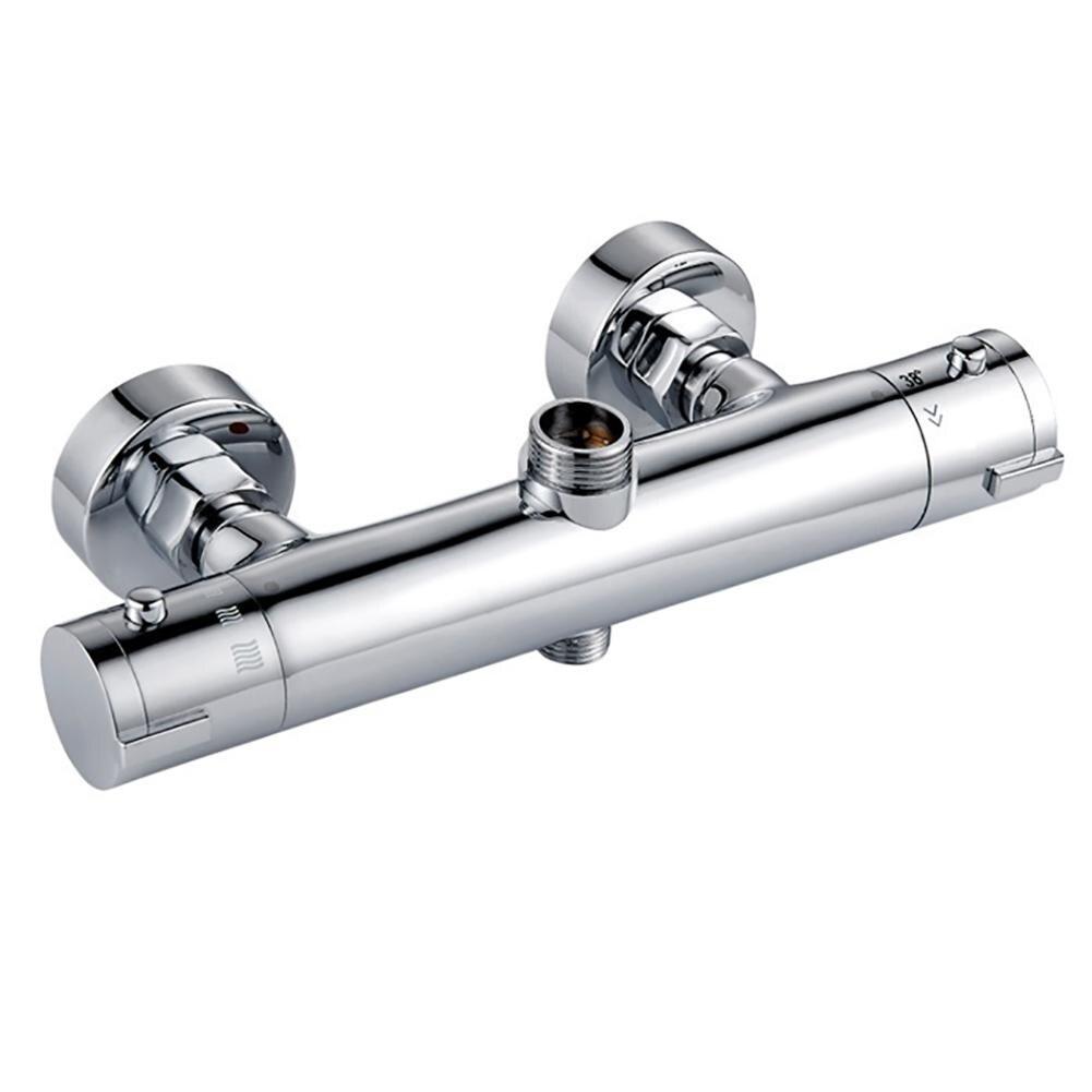 1 Set nouveau robinets de douche thermostatiques intelligents à Double sortie robinets d'angle de salle de bain