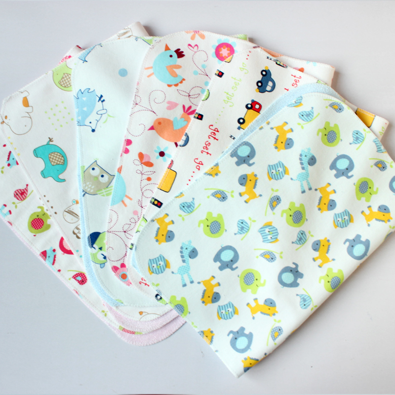 【Black Friday】Baby Changing Pad Bamboo Fiber Pleasantly Cool Comfortable Cartoon Pattern Ventilation Four Seasons Applicable