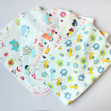 Baby Changing Pad Bamboo Fiber Pleasantly Cool Comfortable Cartoon Pattern Ventilation Four Seasons Applicable