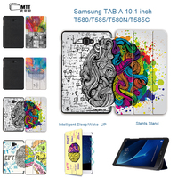 Print Left Right Brain Case For Samsung Galaxy Tab A 10 1 2016 T580 T585 MTT