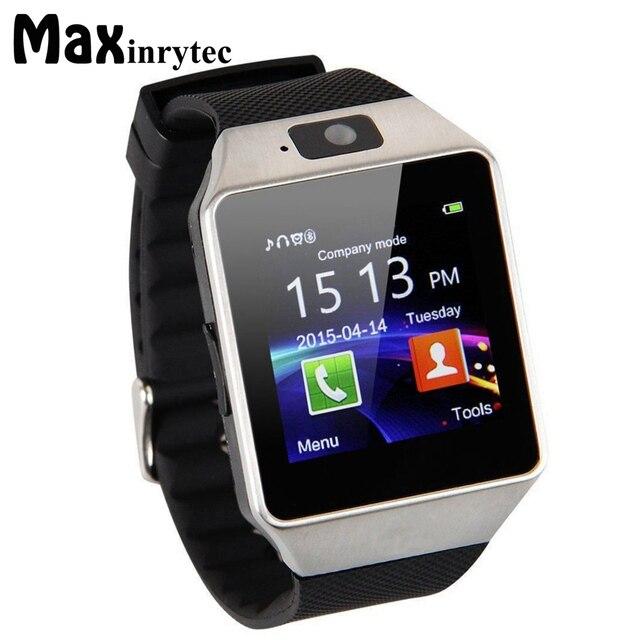 Maxinrytec Bluetooth Smart Часы SmartWatch DZ09 Android Телефонный звонок Relogio 2 г GSM sim-карты Камера для iphone Samsung PK GT08 a1