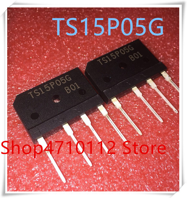 NEW 5PCS/LOT TS15P05G TS15P05 15P05 15P05G 15A 600V ZIP-4