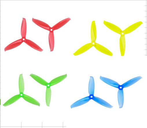 12 pairs Gemfan Flash <font><b>3052</b></font> 3.0x5.2 PC Propeller Prop 5mm Mounting Hole for 1306-1806 Motor RC Drone Blue Red Pink Black image