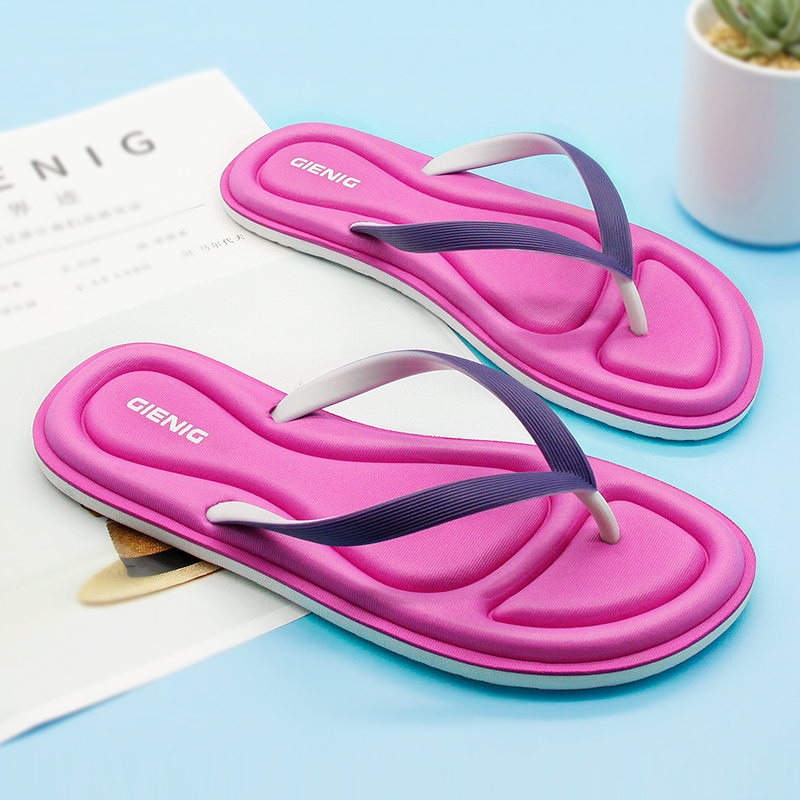Gienig 2018 dames zomer slippers mode antislip soft-bottom home - Herenschoenen