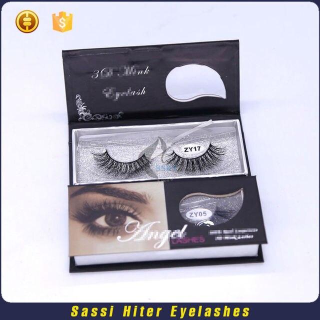Hand Made Free 3d Mink Eyelashes Samples In False Eyelashes From