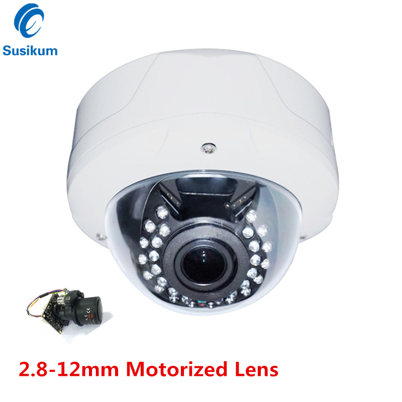2MP Security Dome Camera AHD 1080P CVI TVI CVBS 4IN1 SONY IMX323 Sensor 2.8~12mm Motorized Lens 4X ZOOM IR 30M Infrared Camera cctv indoor 1080p 2 5 mini dome ptz camera sony imx323 ahd tvi cvi cvbs 4in1 2mp pan tilt 4x zoom day night ir 40m osd menu
