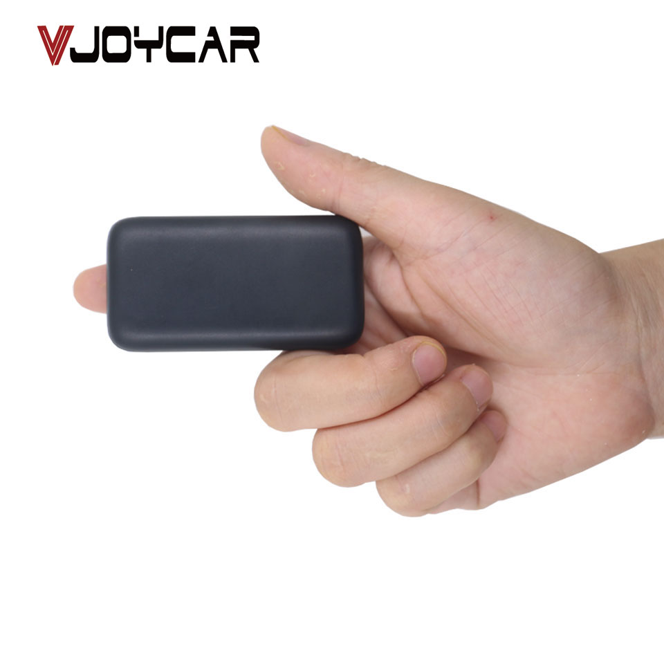 VJOYCAR Micro Collar GPS Tracker Mini Children Kids Pet Cat Dog Bag Bike Car Locator Waterproof Free Tracking Software mini waterproof silicon pets collar gps tracker real time locator gps lbs wifi location locator for dog cat tracking geofence