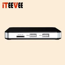 20 pçs mini conjunto caixa superior 605 linux 4.4 doppio sistema supporto h.265 1920x1080