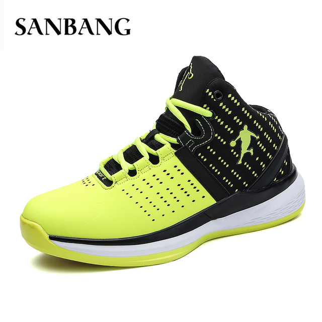 6e51b00de69 Men Basketball Shoes For Sport Sneakers Mens Breathable Air Cushion Lace Up  Male 2018 New Brand Couples Jordan Shoes 36-47 B4