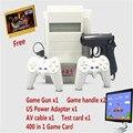 Subor d31 bully 8 bit tv game console dupla alça clássico nostálgico jogo de tiro + 400 EM 1 card game Jogo De Vídeo Da Família Consoles