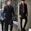 Nueva Marca bakham Largo trench coat abrigo de lana chaquetón de Invierno Capa de Polvo de Los hombres ropa de abrigo abrigos de los hombres