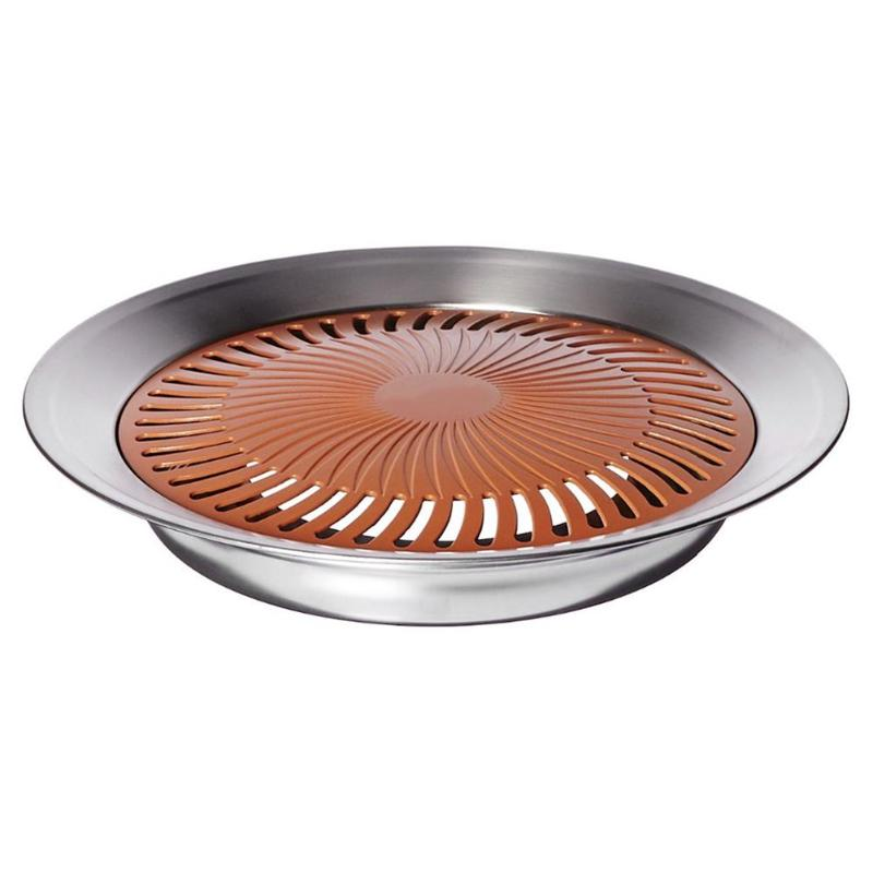 Multi-function Non-stick Smokeless BBQ Pan Grill Stove Frying Pot Barbecue Plate Househo ...