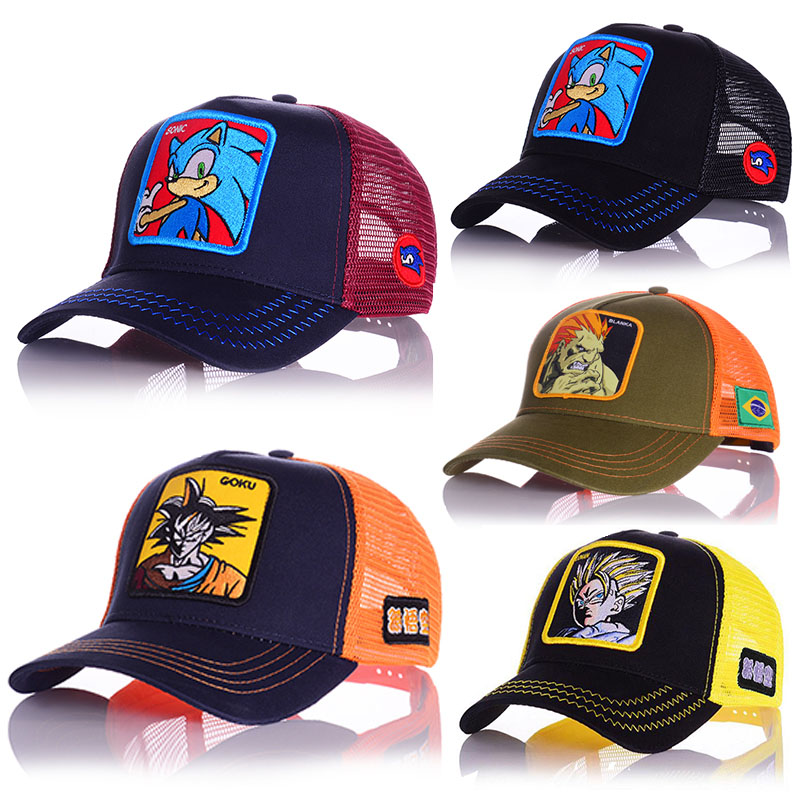 Men's New Baseball Hats Animal  Embroidery High Quality Comfortable Breathable Adjustable Women's Universal Caps For Man(China)