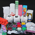 new Pro  Acrylic Nail Liquid Powder Nail Art Tips Kit DIY Tool Kit manicure Set #014 set for salon home use dropshipping