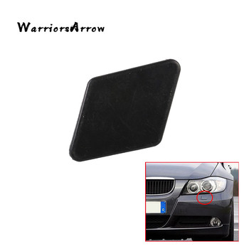 Left Front Bumper Splitter Headlight Washer Cover Cap Unpainted diffuser For BMW E90 E91 320i 325i 330i 2005-2009 61678031307 image
