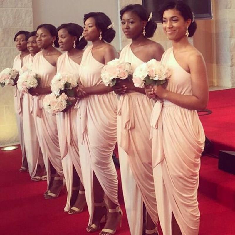 2017 Bridesmaid Dress Nigerian Wedding Ceremony Dress