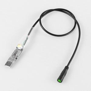Image 5 - BAFANG Motor Parts Gear Sensor Display Extension Cable USB Programming Cable Y Splitter Brake Gearsensor Twist Throttle 6V Light