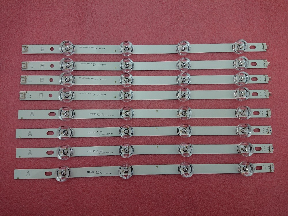 New 8 PCS/set LED Backlight Strip Bar Replacement  For 39 Inch TV 39LB561V 39LB5800 Innotek DRT 3.0 39