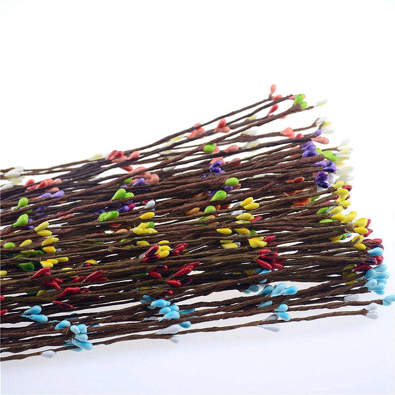 Quality 10pcs Wreath Berry Artificial Rattan High Small Flower New RaOqgpn