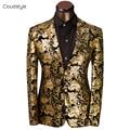 2017 Ropa de Marca Hombres Chaqueta chaqueta Americana Hombre Moda Chaqueta de Traje de Vestir de Negocios Slim Fit Outwear traje homme traje