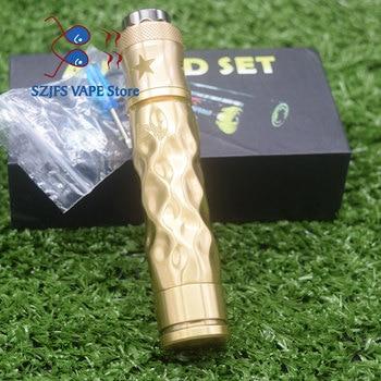 Free shipping l E Cigarette Vape Mod Avidlyfe Mod Kit Avid lyfe Twist Mechanical Mod AV Battle RDA Fit 18650 Battery Colorfu e l truth lavish lyfe