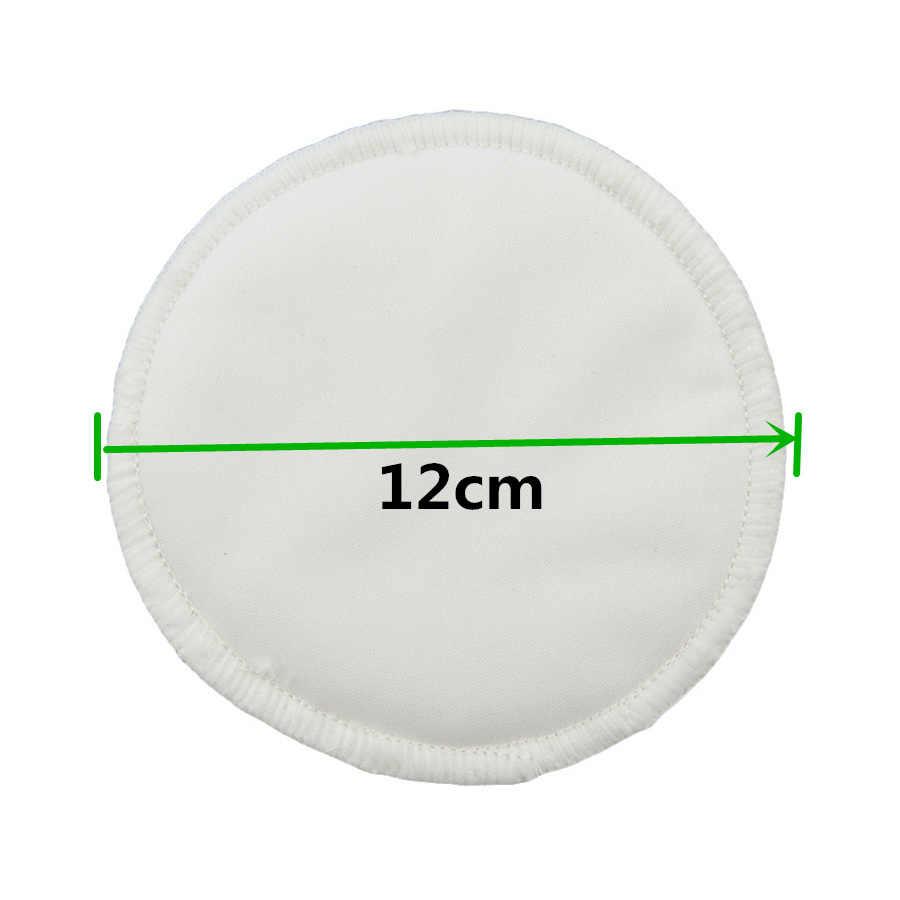 [ONNPNNQ] 4 piezas nuevas almohadillas de lactancia de bambú para mama lavables a prueba de agua almohadilla de alimentación de bambú reutilizable pecho almohadillas