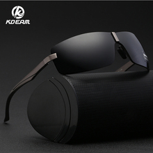 KDEAM Aluminum Magnesium Men's Sunglasses Polarized Coating Mirror Sun Glasses oculos Male Eyewear Accessories KDA519 aluminum magnesium polarized sunglasses men sports sun glasses night driving mirror male eyewear accessories goggle oculos