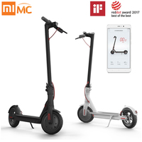 Original Xiaomi Mijia Scooter 2 Ruedas Patín Adulto Inteligente Scooter Eléctrico Mini Bicicleta Plegable 30 km Battery Life Hoverboard