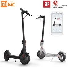 Оригинальный Xiaomi скутер mijia 2 Колёса смарт-электрический скутер Скейтборды взрослых мини-складной велосипед ХОВЕРБОРДА 30 км жизни Батарея
