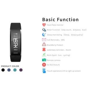 Image 4 - Смарт браслет, водонепроницаемый фитнес браслет, пульсометр, шагомер, трекер активности, монитор сна, Смарт часы