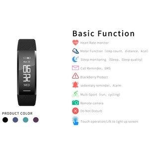 Image 4 - สายรัดข้อมือสมาร์ทกันน้ำฟิตเนสสร้อยข้อมือHeart Rate Monitorวงดนตรีสมาร์ทPedometerกิจกรรมTracker Sleep Monitor Smart Watch
