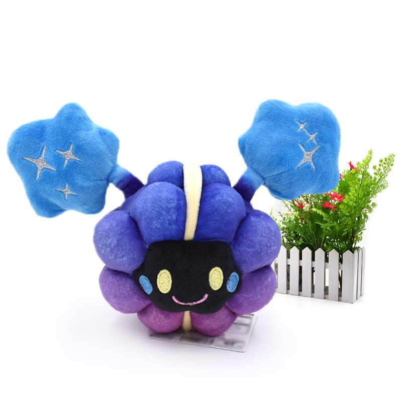 10 pçs/set delicado alola solgaleo lunala cosmog sol & lua peluche peluche peluche pelúcia brinquedos anime japonês figura de ação bonecas