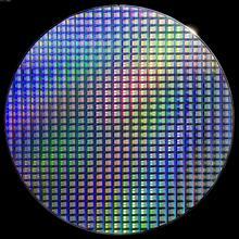 12 Cal wafel krzemowy układ scalony Uncut Geek zabawka ozdoba pojedyncza kryształowa mata Chip dwustronnie polerowany Si wafel IC