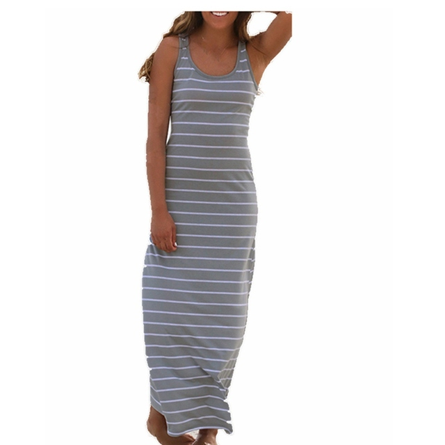 Boho Plus Size Long Summer Maxi Dress