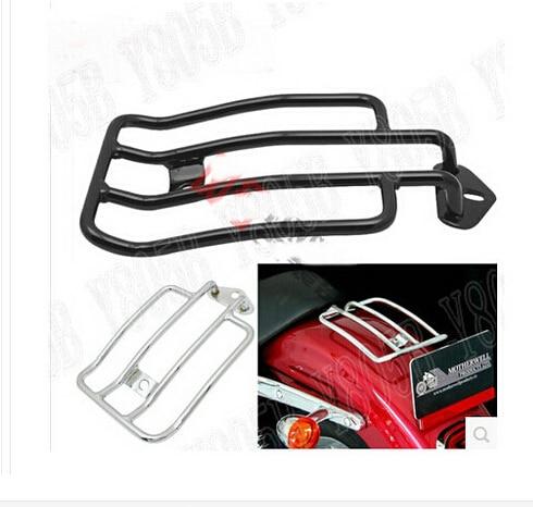 US $49 46 6% OFF|Motorcycle Seat Rear Fender Luggage Rack For Suzuki  Boulevard C50 Volusia 800 C90 M109R C109 Marauder 800 M50 Intruder  LC1500-in